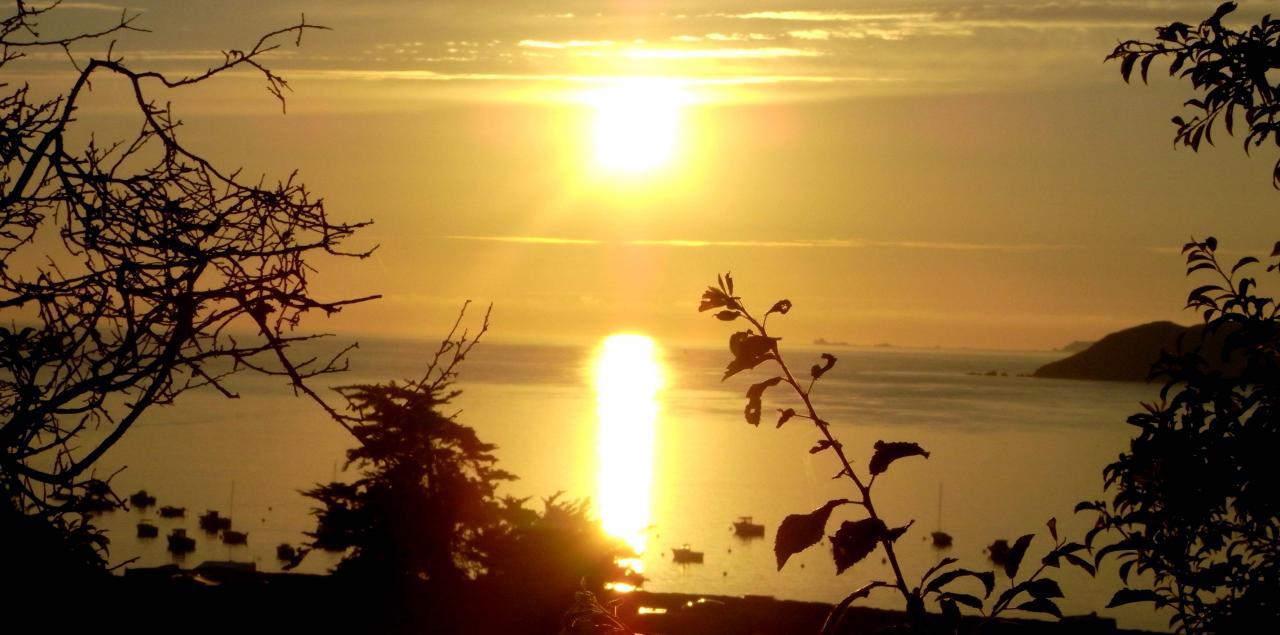 coucher de soleil depuis Kérieg