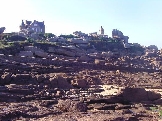 Ploumanach - la côte
