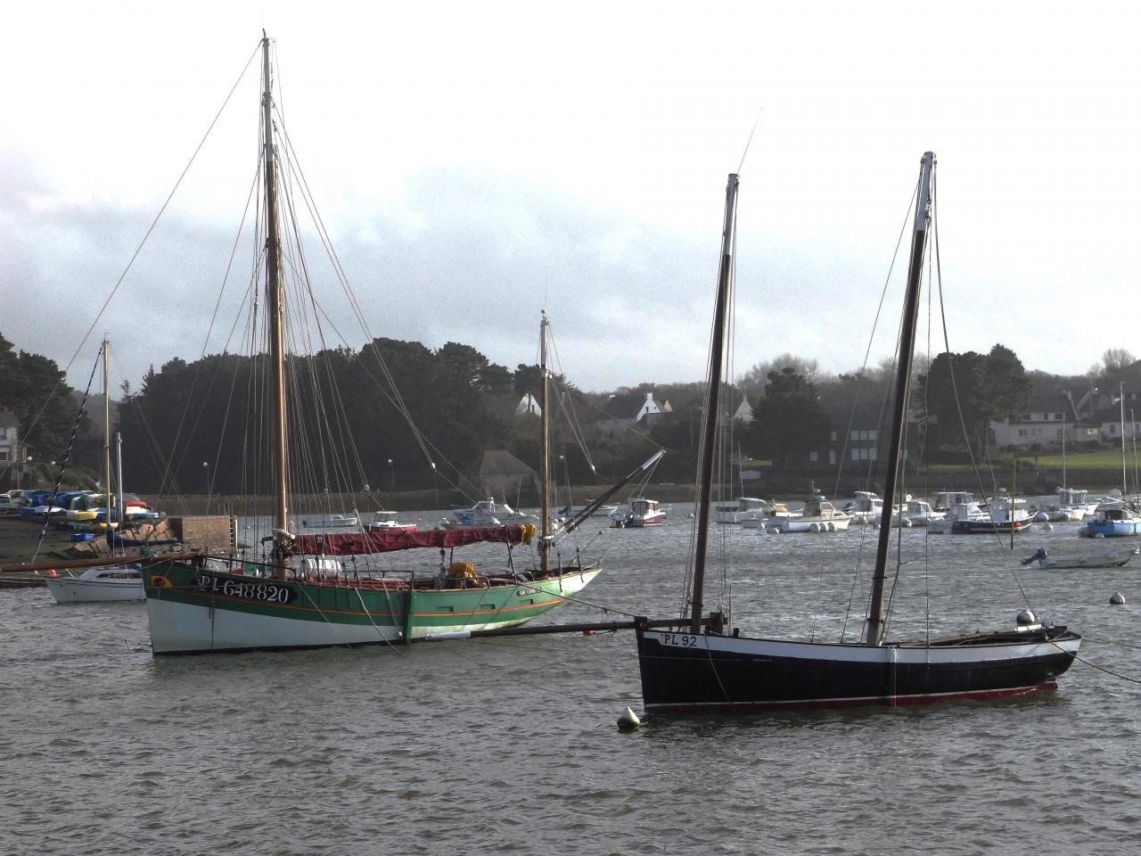 Village prefere des Francais 2015 port de Ploumanach