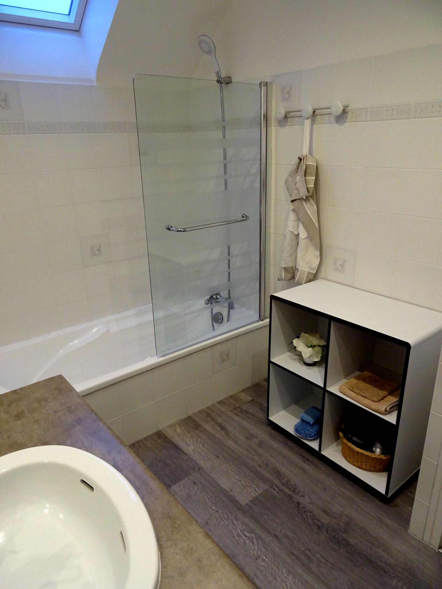 Salle de bain au RDC